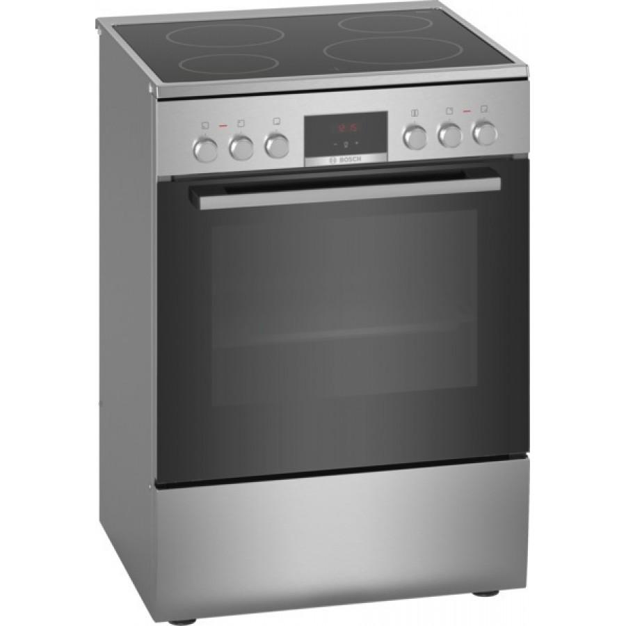 Bosch HKR390050 κουζίνα με κεραμική εστία Inox